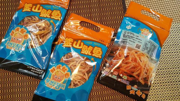 超值十二袋入 鮮烤魷魚90g/袋 1