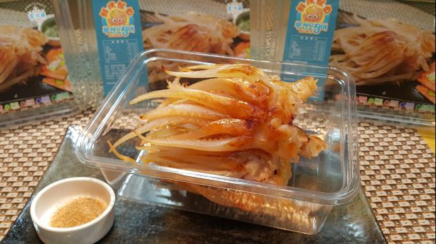蜜糖鲜烤魷魚腳 115g/盒 1