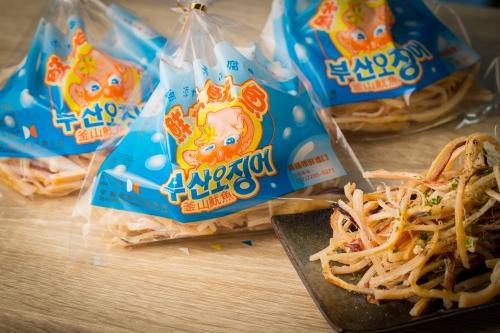 釜山魷魚-韓國鮮烤魷魚 1